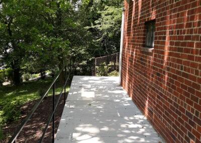 Concrete Walkway Rails-WDC