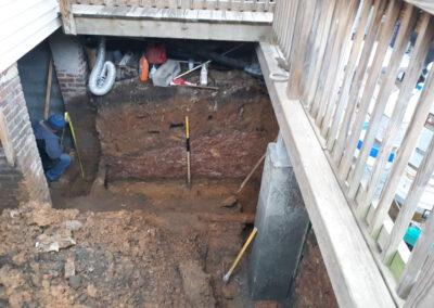 Excavation Concrete Peir-WDC