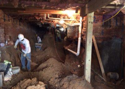 Basement Excavation-WDC