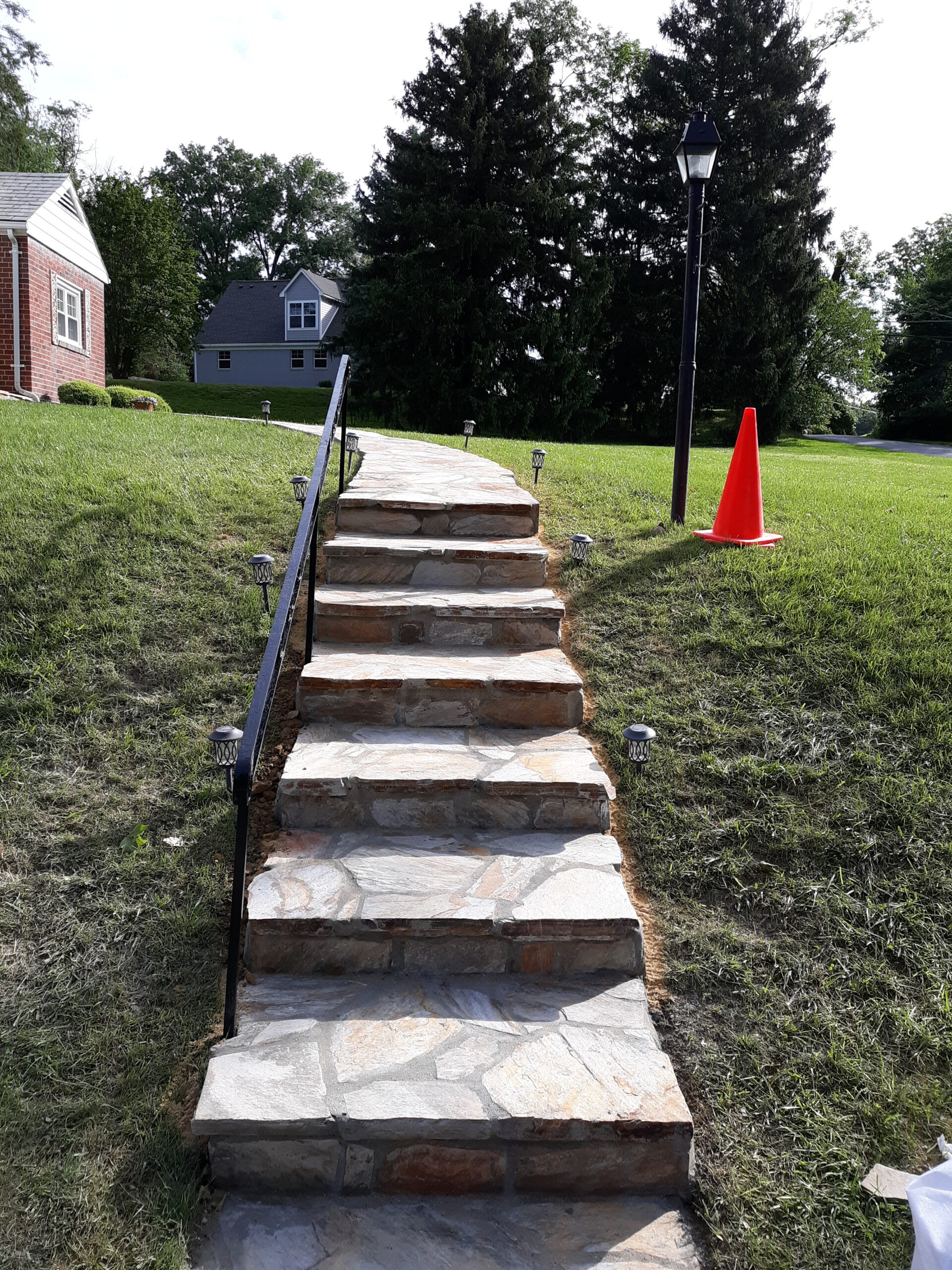 Stone Walkway & Rails Silver Spring, MD